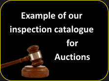 Example of our inspection catalogue for Auctions